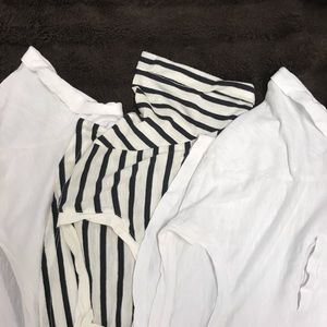 3 for $6 🤩 H&M Basic Tees Bundle - Size Small